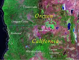 map of oregon near crater lake directions redwood national and state parks u s national park