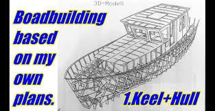 boatbuilding do it youself 1 keel hull boatbuilder gustav youtube
