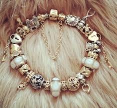 charm bracelet charms white gold images Pandora charms valentines day silver gold charm bracelets like pandora jpg