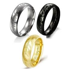 the one ring wedding band lord of the rings the one ring bilbo s hobbit ring 18k gold
