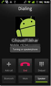 calls for android auto enable speakerphone on incoming and outgoing calls android