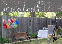 photo booth diy domestic fashionista diy photo booth using your dslr