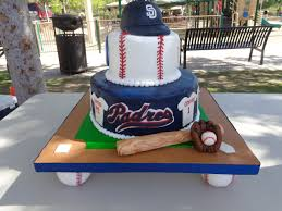 san diego padres cake little league baseball end of the season