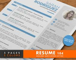 creative resume template cv template word cover letter 2