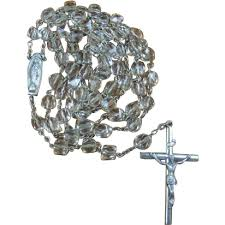 creed rosary vintage creed sterling rosary with original mesh