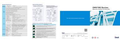 invt chv180 special inverter for elevator catalog shenzhen invt