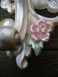 Shabby Chic Wall Sconce by 704 Best Homco Repurposed Images On Pinterest Repurposed Wall