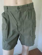Comfort Waist Mens Shorts St John U0027s Bay Hiking 100 Cotton Shorts For Men Ebay