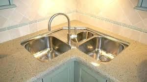 corner kitchen sinks enchanting undermount corner kitchen sink custom copper single at