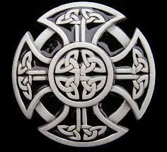celtic belt buckles poured pewter
