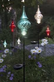 Colour Changing Solar Garden Lights - garden stakes for christmas lights home outdoor decoration