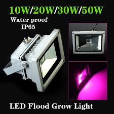 best grow lights for vegetables water proof ip65 10w 20w 30w 50w led grow flood light plant ls