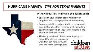 hurricane harvey children at risk