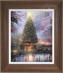 christmas in new york u2013 limited edition art the thomas kinkade