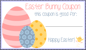 my easter bunny easter bunny coupons free printable my mini adventurer