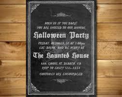 diy halloween invite halloween party invitation diy