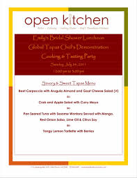 100 free catering menu template holiday menu templates from