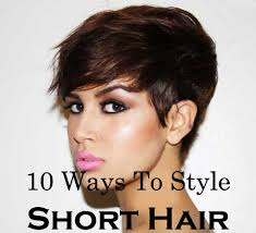 easy to keep hair styles ten quick and easy ways to style short hair