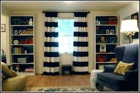 Navy Chevron Curtains Navy Blue And White Striped Blackout Curtains Navy Striped