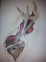 buck tattoo by dragonjsp on deviantart