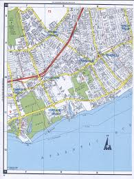 Map Of Southern States Southern Staten Island Map