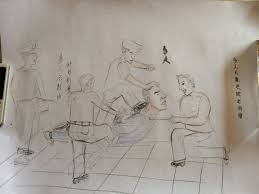 sketches of torture draw attention to police abuse in china huffpost