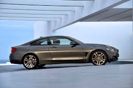 price of bmw 4 series coupe side angle of the grey 2014 bmw 4 series coupe indian autos