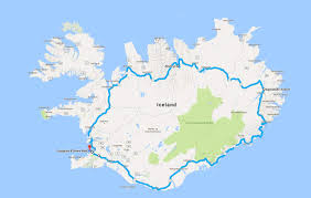 Iceland Map World Driving In Iceland The Ring Road What U0027s On In Reykjavik Iceland