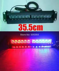 Led Light Bar Police by Car 12v Cigarette Lighter Powered Red Blue Flash Light Bar Police