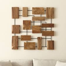 marcel teak wall crate and barrel