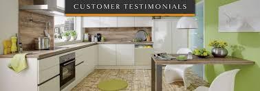 customer reviews testimonials kitchens glasgow