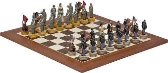 Amazon Chess Set Amazon Com American Civil War U0026 Stuyvesant St Chess Board From