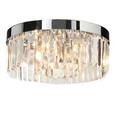 Flush Bathroom Light Endon 5lt Flush Ip44 18w 35612 Minster Lighting