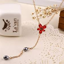 hermione necklace images Hermione granger necklace red rhinestone pendant planet of harry jpg
