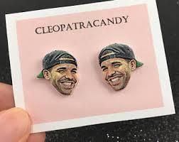 tupac earrings etsy