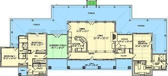 country floor plans hill country home with porch 46052hc architectural