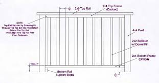 How To Install Banister Railings Deck Railing Installation Diy Deck Plans