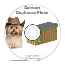 cad designed insulated dog house plans large breed weatherproof w