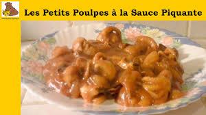 cuisiner le poulpe recettes les petits poulpes à la sauce piquante recette facile hd