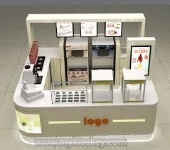 Juice Bar Floor Plan Frozen Yogurt Kiosk Mall Kiosks Food Kiosks Custom Retail
