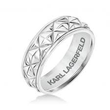 pyramid wedding band karl lagerfeld s men s wedding bands make a point jck