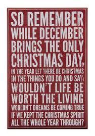 the christmas box christmas box signs for christmas