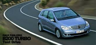 2007 mercedes b200 review mercedes b200 turbo test drive review