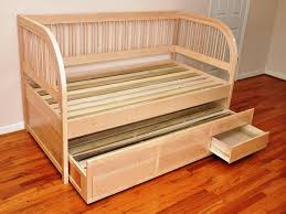 Wood Daybed With Pop Up Trundle Daybed With Pop Up Trundle Bed Best Home Designs Comfortable