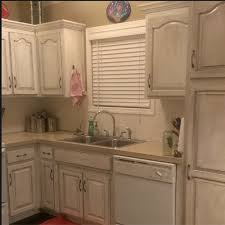 Best Type Of Paint For Kitchen Cabinets Painting Kitchen Cabinets A Rustic Look