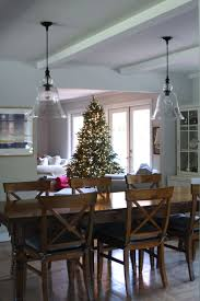 Pottery Barn Dining Rooms by Dining Room Chic Christmas Cool Wood Traditional Adorable