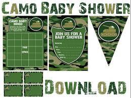 camouflage baby shower camouflage baby shower invitations gangcraft net