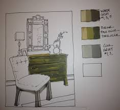 Interior Design Sketches by Interiors Drawing Hand