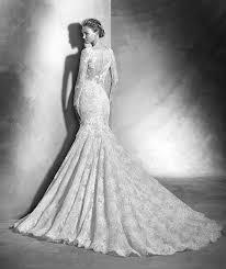 2016 pronovias varel embroidery lace wedding dress varel