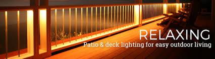 Patio Deck Lighting Ideas Patio Deck Lighting